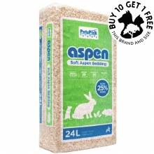 Aspen Bedding 24L