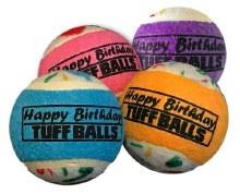 Happy Birthday Balls, Small, Pack of 4