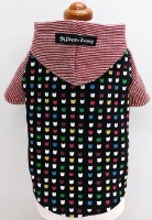 Clover Hooded T-Shirt, Medium