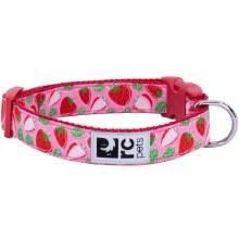 Clip Collar, Strawberries, Large