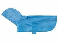 Packable Rain Poncho Cyan Halftone, XXS