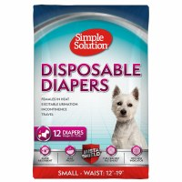 Disposable Female Diapers, Small