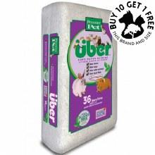 Uber Soft Paper Bedding White 28L