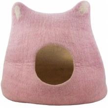 Wool Kitty Head Cave, Pink