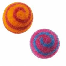 Wool Spiral Ball