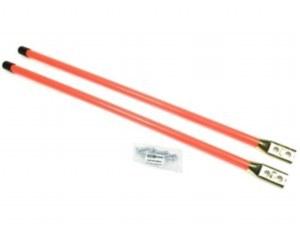 """Blade Guides 36"""" Fluorescent Orange Bolt on Base"""