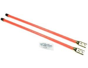 """Blade Guides 48"""" Fluorescent Orange Bolt on Base"""