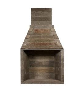 Fire Rock 42 Kit Fireplace