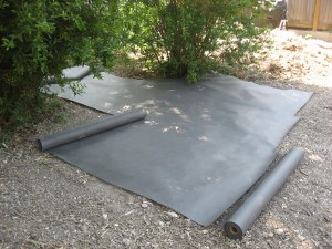 Weed Barrier 3 Ft X  50 Ft