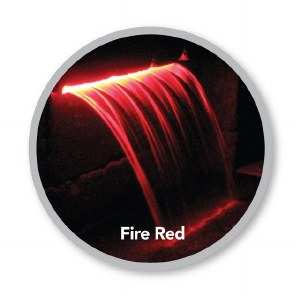 Colorfalls 12 Fire Red Light