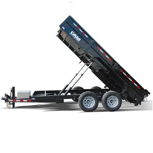 Dump Trailer 6 Hour Rental
