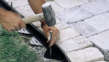 Brick Paver Edging and Accessories