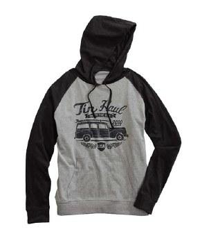 Tin Haul Car Logo Hoodie Black XXL