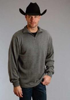 Stetson Wool Sweater Grey XL REG