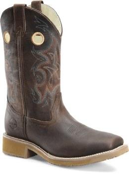 Wide Sqr Toe Western Boot 10 1/2 D