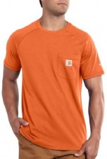 Force Cotton SS Tee Orange MEDIUM REG
