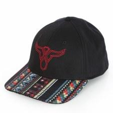 20X Aztec Brim Cap Black MED