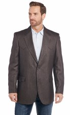 Ft Worth Elbow Patch Sportcoat Coffee 50