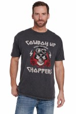 CB UP Choppers Tee Grey LARGE REG