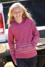 Girls French Terry Hoodie LG L/S