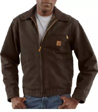 DETROIT JACKET DRK BROWN XXLG TALL