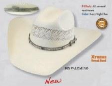 Larry Mahan 10X Palomino 7 1/2 LG OVAL