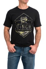 Cinch Tee BLK XL REG