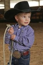 Infant Cinch Shirt Purp 3M