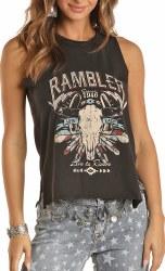 Black Rambler Tank MED REGULAR