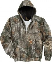 Mdwt Camo Hooded Zip MED REG
