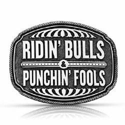 ridin Bulls Buckle