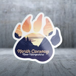 Sticker Pack Bear Paw Decal Large