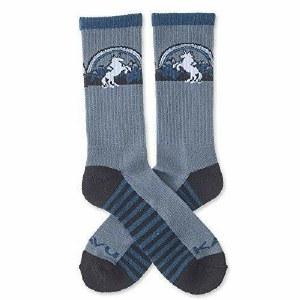 Kavu Moonwalk Socks 6-12.5 Unicorn