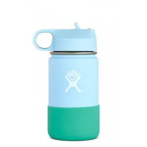 Hydro Flask 12oz Kids Wide Mouth Straw Lid 12oz Frost