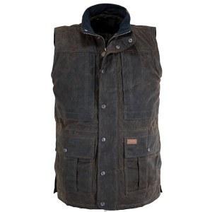Outback Trading Company Deer Hunter Vest X-Large Bronze