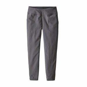 Patagonia Women's Happy Hike Studio Pants Medium Forge Grey