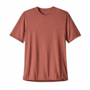 Patagonia Men's Capilene Cool Trail Shirt Large New Adobe