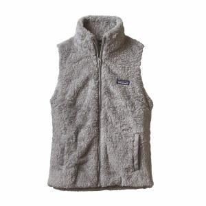 Patagonia Women's Los Gatos Fleece Vest Large Drifter Grey