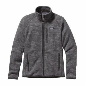 Patagonia Men's Better Sweater Fleece Jacket Large Nickel w/Forge Grey