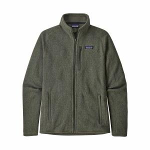 Patagonia Men's Better Sweater Fleece Jacket Large Industrial Green