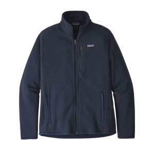 Patagonia Men's Better Sweater Fleece Jacket Large New Navy