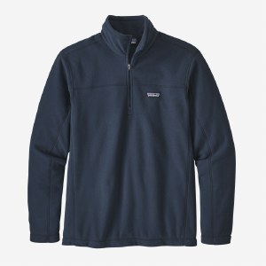 Patagonia Men's Micro D Pull Over  L New Navy