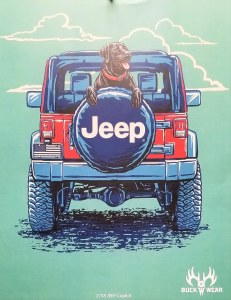 Buck Wear Inc Jeep Copilot S/S Tee S Mint