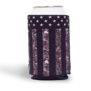 Buck Wear Inc Camo Stars & Stripes - Can Holder NS Multi
