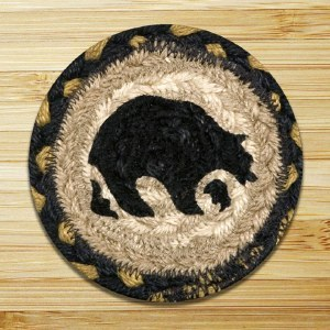 Capitol Earth Rugs Bear Coaster 5""