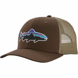 Patagonia Fitz Roy Trout Trucker Hat OS Bristle Brown