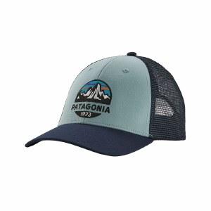 Patagonia Fitz Roy Scope LoPro Trucker Hat OS Big Sky Blue