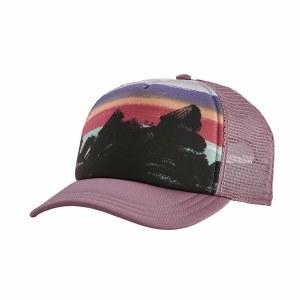 Patagonia Women's Free Hand Fitz Roy Interstate Hat One Size Verbena Purple