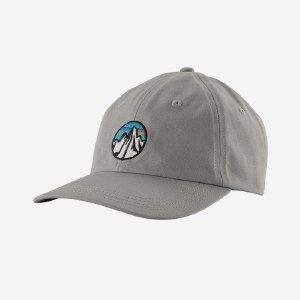 Patagonia Fitz Roy Scope Icon Trad Cap OS Drifter Grey