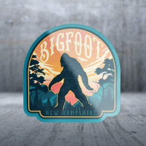 Sticker Pack Bigfoot Walking Across Decal Large